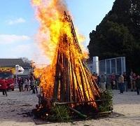 神社のどんど焼きでお守りって燃やせるの? 他に燃やせるものは?