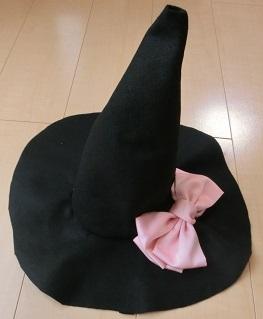 魔女 帽子 フェルト