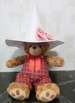 ハロウィン 魔女の帽子 手作り