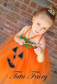 ハロウィン かぼちゃ チュチュドレス 手作り