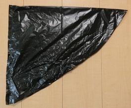 ハロウィン ゴミ袋 衣装 作り方
