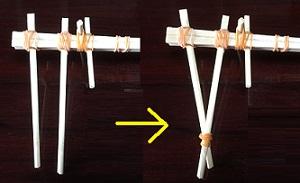 連射割り箸鉄砲 作る方法