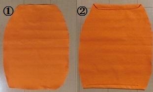 ハロウィン かぼちゃの衣装 作り方