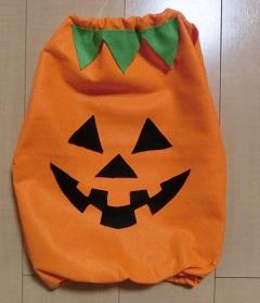 ハロウィン かぼちゃの衣装 手作り