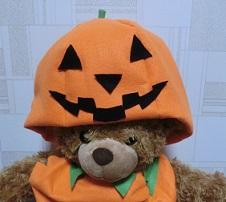 ハロウィン かぼちゃ帽子 手作り