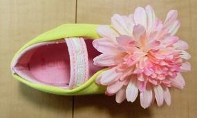 ティンカーベルの靴 手作り