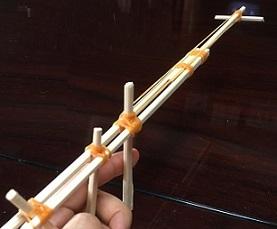 割り箸鉄砲 工作