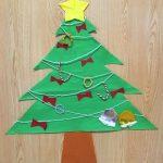 クリスマスの壁画 保育園や幼稚園、高齢者施設で手作り!簡単な作り方はコレ