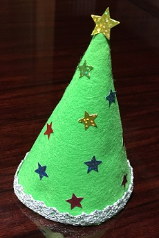 フェルト 手作りクリスマスツリー オシャレ