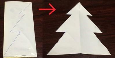 フェルト クリスマスツリー 作り方