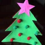フェルトのクリスマスツリーの作り方!簡単に手作りする方法はコレ!