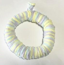毛糸リース 簡単 手作り