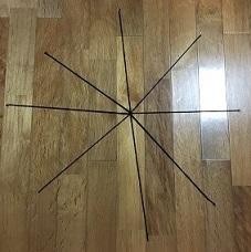 蜘蛛の巣 毛糸 手作り