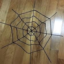 蜘蛛の巣 毛糸 作り方