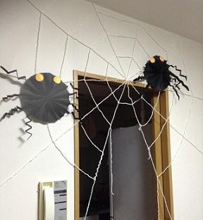 蜘蛛の巣 手作り方法