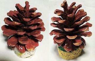松ぼっくり クリスマスツリー 手作り