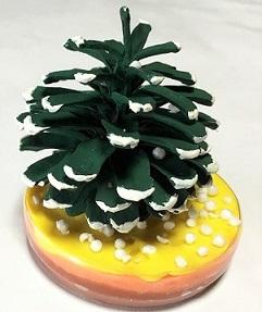 松ぼっくり クリスマスツリー 作り方