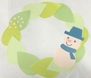 クリスマスリース 簡単 ハンドメイド