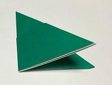 折り紙 クリスマスリース 簡単な作り方