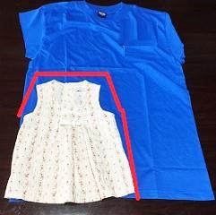 白雪姫 子供用衣装 作り方