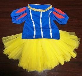 白雪姫 子供用衣装 手作り