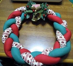 クリスマスリース 手作り方法
