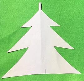 フェルト クリスマスガーランド 工作方法