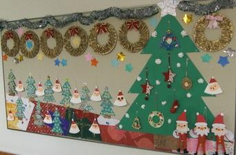 高齢者 クリスマス 壁画