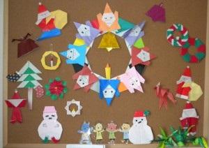 クリスマス 壁画 アイディア