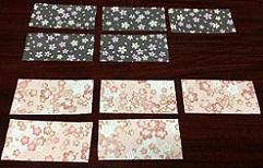 折り紙リース 折り方 10枚