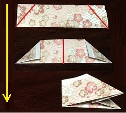 折り紙リース 折り方 簡単