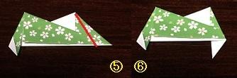 折り紙リース 折り方 かわいい