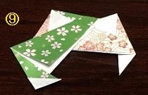 折り紙リース 折り方 アイディア