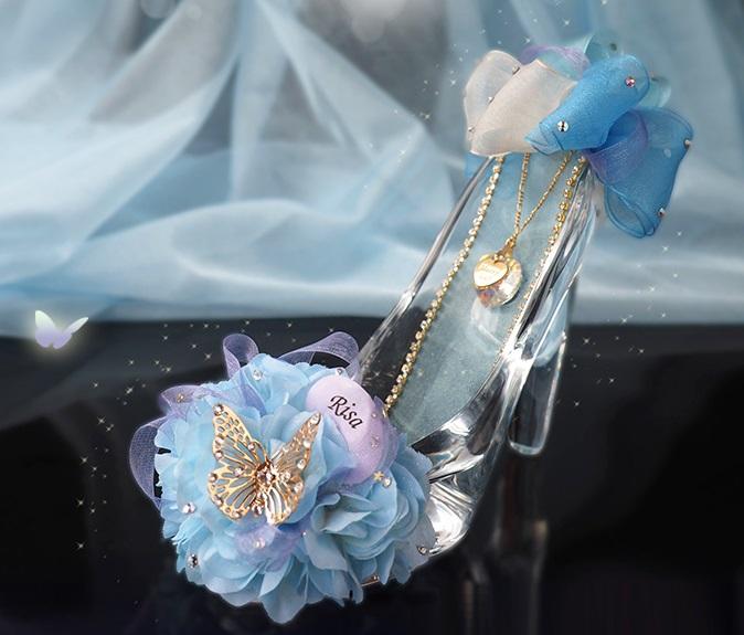 メリアルームメン ガラスの靴