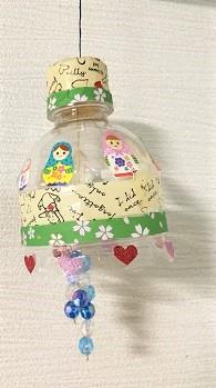 風鈴 作り方 ペットボトル