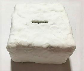紙粘土 貯金箱 お菓子