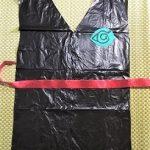 忍者衣装の作り方 ビニールのゴミ袋で簡単手作り♪子供から大人まで
