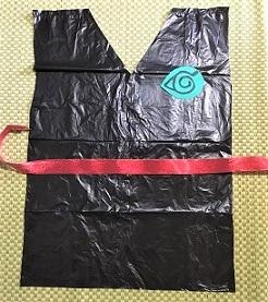 忍者 衣装 作り方 ビニール