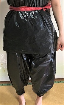 忍者 衣装 作り方 大人