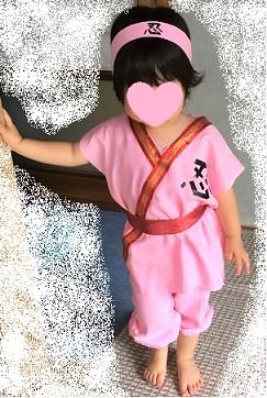 忍者 仮装 子供