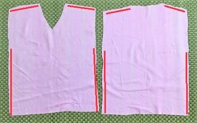 忍者 衣装 布