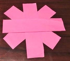 秋桜 折り紙 簡単