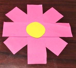 こすもす 折り紙 簡単