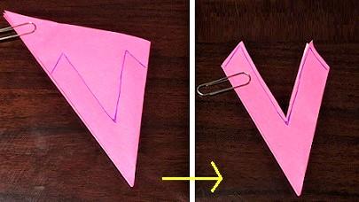 コスモス 折り紙 簡単 折り方