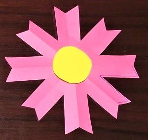 コスモス 折り紙 作り方