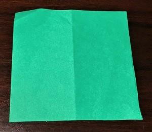 コスモス 葉っぱ 折り紙