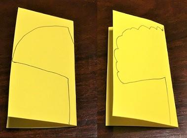 いちょう 画用紙 作り方