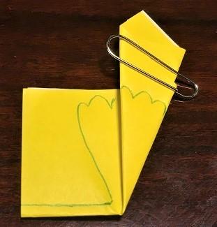 いちょう 折り紙 幼稚園