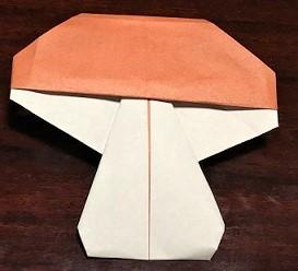 きのこ 折り紙 簡単