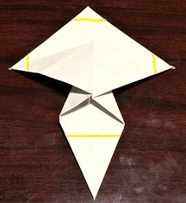 きのこ 折り紙 折り方